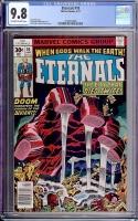 Eternals #10 CGC 9.8 ow/w