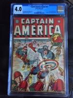 Captain America Comics #25 CGC 4.0 cr/ow