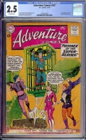 Adventure Comics #267 CGC 2.5 ow