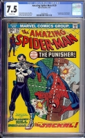 Amazing Spider-Man #129 CGC 7.5 ow