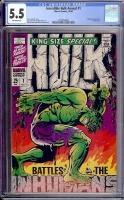 Incredible Hulk Annual #1 CGC 5.5 ow