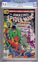 Amazing Spider-Man #158 CGC 9.6 ow
