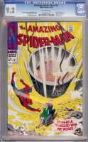 Amazing Spider-Man #61 CGC 9.2 ow