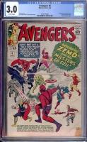 Avengers #6 CGC 3.5 ow