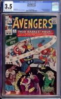 Avengers #7 CGC 3.5 ow/w