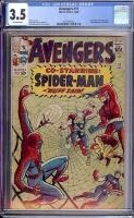 Avengers #11 CGC 3.5 ow
