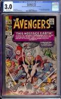 Avengers #12 CGC 3.0 ow