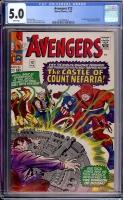 Avengers #13 CGC 5.0 w