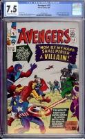 Avengers #15 CGC 7.5 ow/w