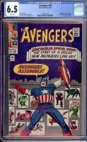 Avengers #16 CGC 6.5 w