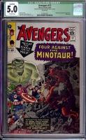 Avengers #17 CGC 5.0 ow