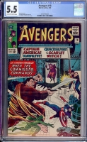 Avengers #18 CGC 5.5 ow/w