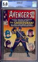 Avengers #19 CGC 5.0 ow