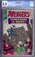 Avengers #20 CGC 5.5 ow/w