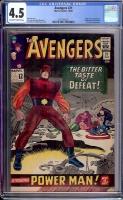 Avengers #21 CGC 4.5 ow/w