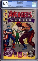 Avengers #22 CGC 6.0 w