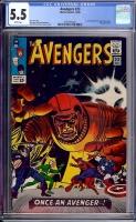 Avengers #23 CGC 5.5 w