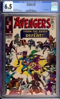 Avengers #24 CGC 6.5 ow/w