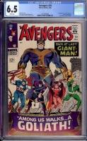 Avengers #28 CGC 6.5 w