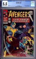 Avengers #29 CGC 5.5 ow/w