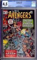 Avengers #76 CGC 4.5 w