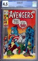 Avengers #78 CGC 4.5 ow/w