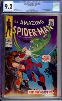 Amazing Spider-Man #49 CGC 9.2 ow/w