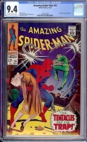 Amazing Spider-Man #54 CGC 9.4 ow/w
