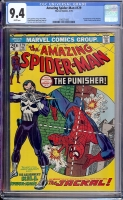 Amazing Spider-Man #129 CGC 9.4 w