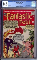 Fantastic Four #6 CGC 8.5 cr/ow