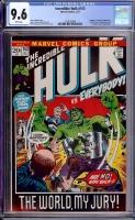 Incredible Hulk #153 CGC 9.6 w