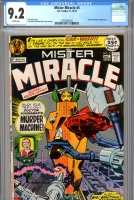 Mister Miracle #5 CGC 9.2 w