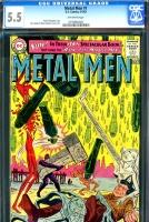 Metal Men #1 CGC 5.5 ow