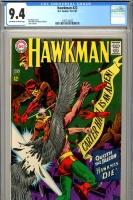 Hawkman #22 CGC 9.4 ow/w