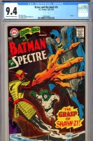 Brave and the Bold #75 CGC 9.4 cr/ow