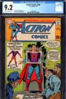 Action Comics #384 CGC 9.2 ow/w