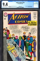 Action Comics #318 CGC 9.4 ow/w