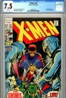 X-Men #57 CGC 7.5 ow