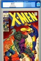 X-Men #53 CGC 9.2 cr/ow