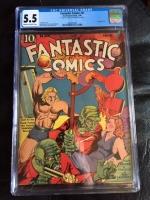 Fantastic Comics #6 CGC 5.5 cr/ow