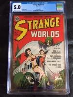 Strange Worlds #1 CGC 5.0 cr/ow