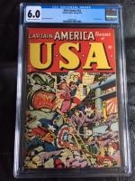USA Comics #12 CGC 6.0 cr/ow