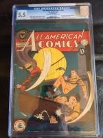 All-American Comics #34 CGC 5.5 cr/ow