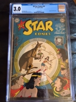 All Star Comics #48 CGC 3.0 ow/w