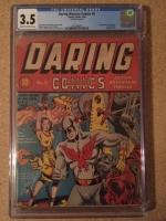 Daring Mystery Comics #5 CGC 3.5 cr/ow