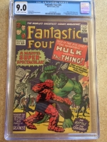 Fantastic Four #25 CGC 9.0 ow/w