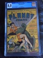 Planet Comics #20 CGC 5.5 w
