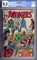 Avengers #81 CGC 8.5 ow/w