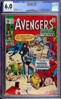Avengers #83 CGC 6.0 ow/w