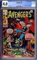 Avengers #84 CGC 4.0 ow/w